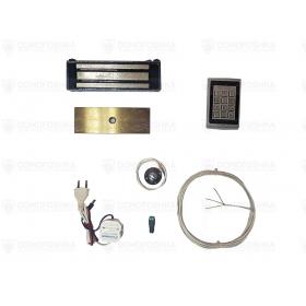 Комплект с электромагнитным замком и уличной кодовой панелью | СКУД-11