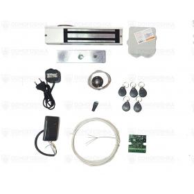 Комплект электромагнитного замка с брелками | СКУД-4