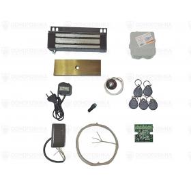 Комплект электромагнитного замка для металлической двери | СКУД-6