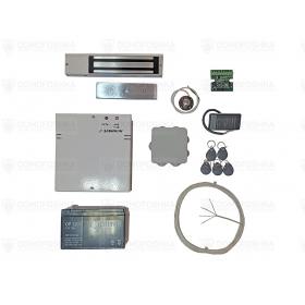 Комплект электромагнитного замка с бесперебойным блоком питания | СКУД-7