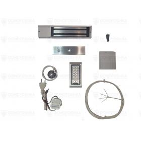 Комплект электромагнитного замка с кодом | СКУД-8