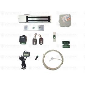 Комплект электромагнитного замка с пультом дистанционного управления | СКУД-9