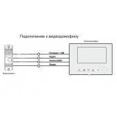 Монтаж панели и монитора